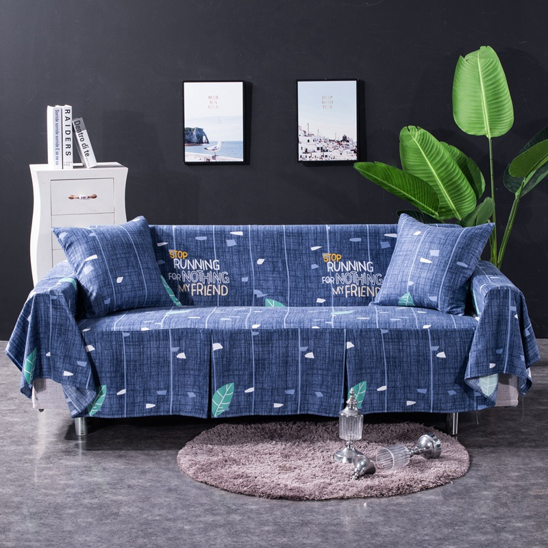 sofa slip cover sofas covers universal 100% Cotton Printed Classic Floral Sofa Cover Sectional