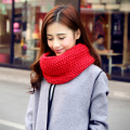 Winter Women Infinity Scarf Casual Warm Knitting Soft Ring Scarves Round Neck Snood Scarf Shawl For Lady Girls HO985074