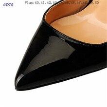 HSM Sexy Sandals Gold Soles Pointed Toe Pumps 13cm Thin heels Stilettos woman shoes Plus 44 45 46 47 48 49 50 US15 16 17 18 19