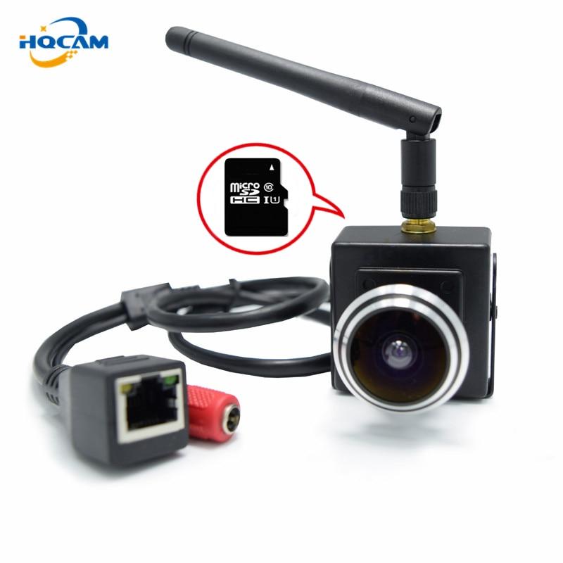 HQCAM 960P Mini WiFi IP Camera 960P mini wifi IP camera wireless webcam camera, support SD card Home Surveillance form CAMHI