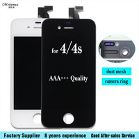 Mobymax AAA 100 No Dead Pixel Lcd Touch Screen Digitizer LCD Assembly Replacement For IPhone 4s
