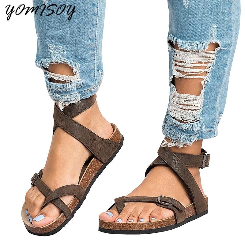 2018 Summer Gladiator Women shoes Roman Sandals Shoes ...