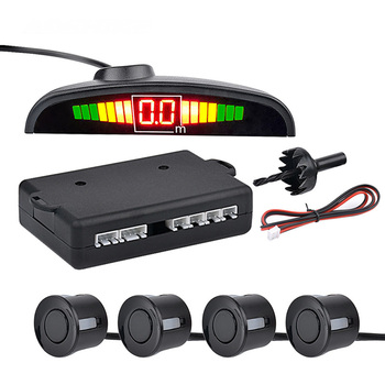 Car Monitor Detector System Auto Parktronic LED Parking Sensor with