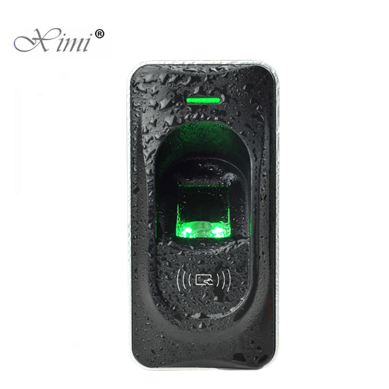 Image 2 - RS485 קורא טביעות אצבע בקרת גישה מערכת Inbio460 גישה בקרת פנל ZK FR1200 טביעות אצבע ו rfid כרטיס קוראfingerprint readerfingerprint card readerfr1200 fingerprint reader -