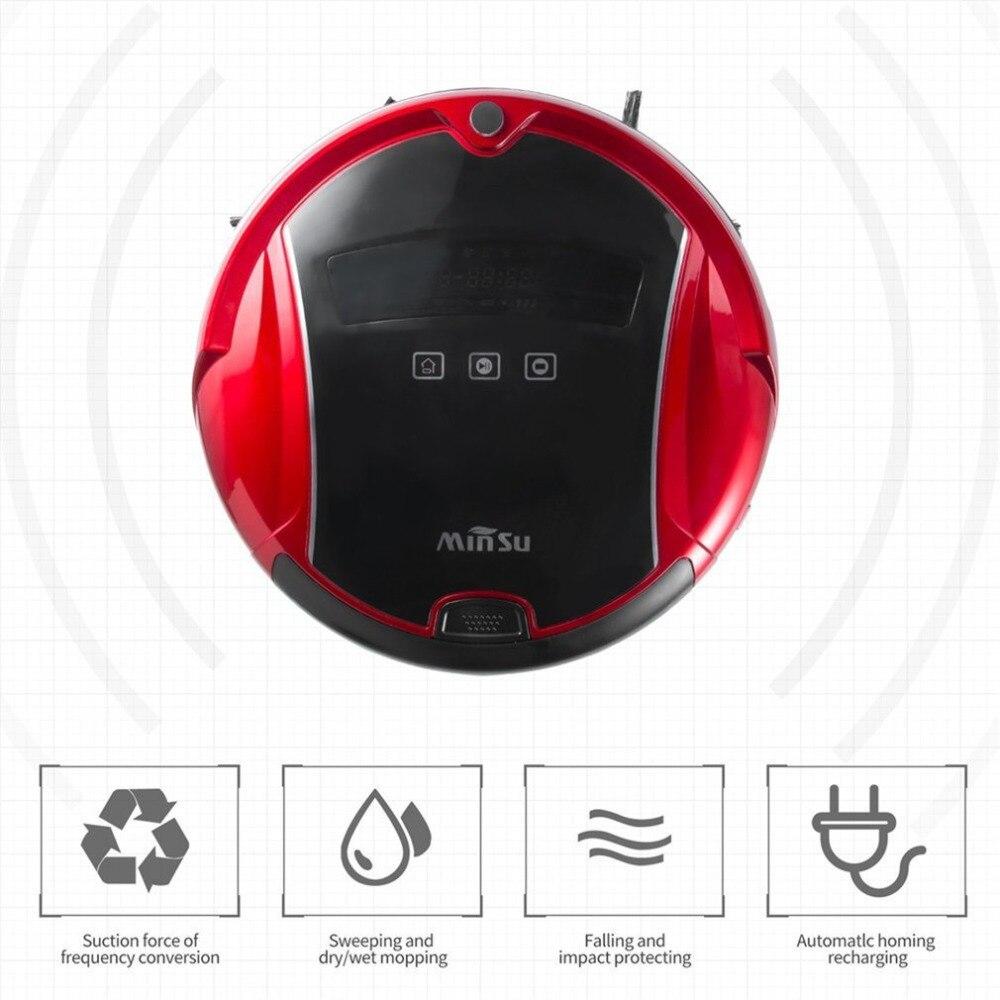 AMW Minsu Семья Автоматический Смарт радикальные робот Ultra Slim развертки пол машины умный немой пылесос для Офис