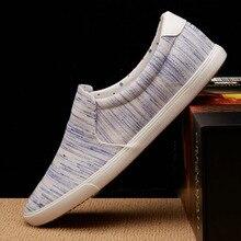 2019 Men Casual Shoes Mens Canvas Shoes for Men Shoes Men Fashion Sneakers Flats Loafers Brand Zapatos De Hombre