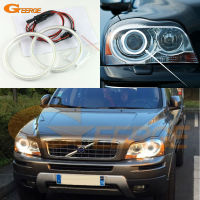 For Volvo XC90 2010 2011 2012 2013 With Xenon Headlight Excellent Angel Eyes Ultra Bright Illumination