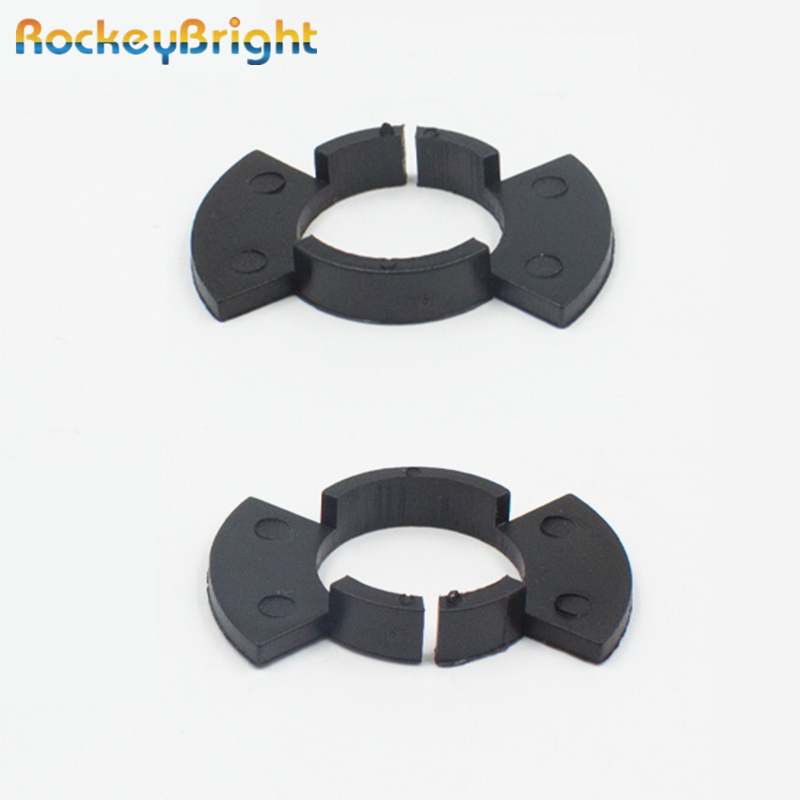 Rockeybright H1 Headlight LED Adapter Base Clip For Honda Civic CR-V Accord Odyssey H1 LED Bulb Holders Adaptors Bulb Socket