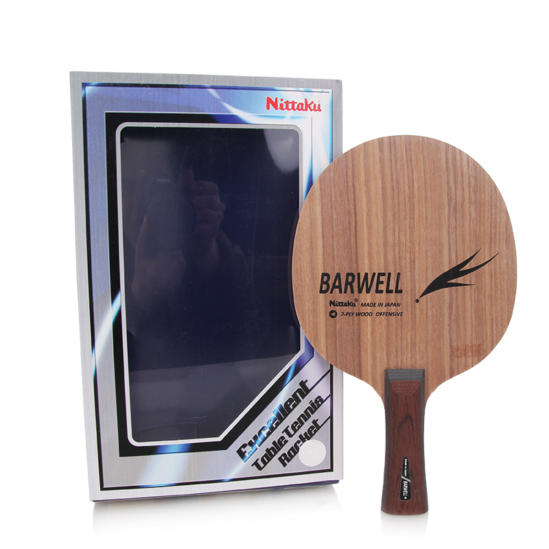 NITTAKU BARWELL Table Tennis Blade Racket Ping Pong Bat hrt ebony nct vii ebony vii ebonyvii table tennis ping pong blade