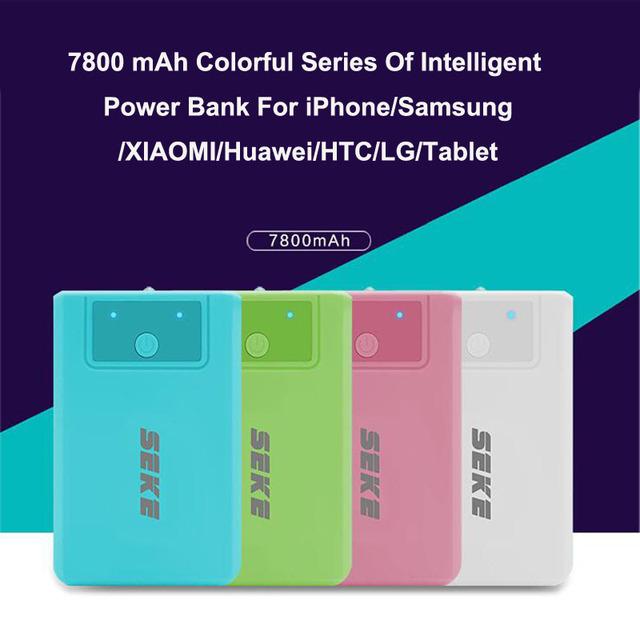 Kailiya tecnologia 7800 mah banco de potência móvel carregador de bateria dupla usb para iphone 5s 6 6 s/samsung/xiaomi/huawei/htc/lg/tablet