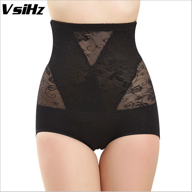 a5f71470492 Women pulling underwear Sexy corset waist trainer for weight loss Lace Thin  Shapers Underwear Bodysuit Girdles control panties