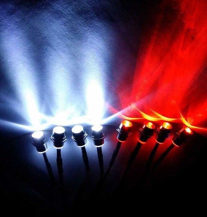 Ewellsold 8 Lights Kit RC Car Accessories Led Lights Kits