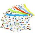 5 Pçs/lote Meninos Cueca Padrão de Carro Dos Desenhos Animados das Crianças das Crianças Calças Crianças Modais Cuecas Boxer Cuecas Do Bebê Meninos Underware Para 2-11Y