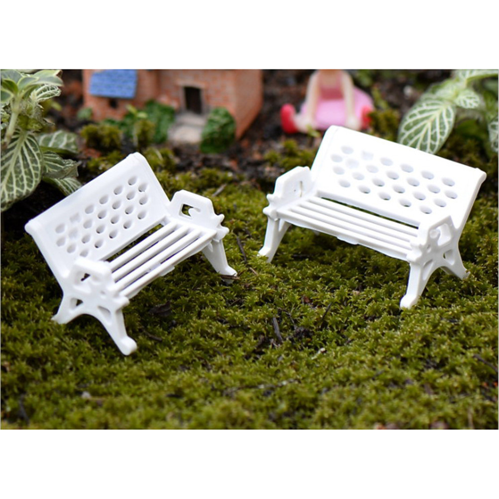 Miraculous Us 0 28 31 Off White Diy Park Bench Seat Moss Bottle Mini Garden Ornament Miniature Park Seat Bench Craft Fairy Dollhouse Decor In Figurines Camellatalisay Diy Chair Ideas Camellatalisaycom