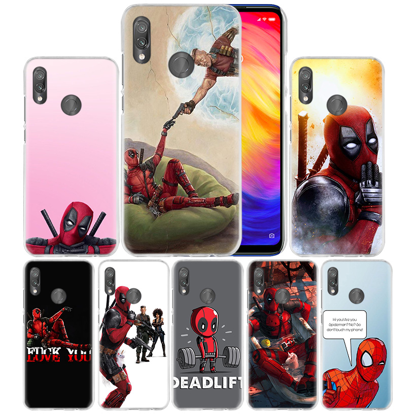 Spider-Man-Case Phone-Cover Mi Play Note-7 Xiaomi Redmi for Note-7/K20/6/.. S2-5 A1 A2