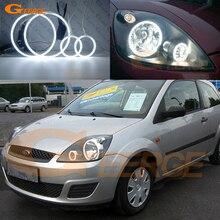 Для форд фиеста facelift 2005 2006 2007 2008 отлично ангельские глазки Ультра яркое освещение ccfl ангельские глазки комплект Halo Кольцо