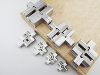 Bouw materiaal rvs deur scharnier nieuwe voorraad met schroeven verborgen onzichtbare