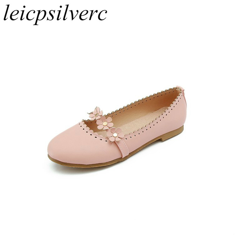 Clothing, Shoes & Accessories Autumn Sexy Women Casual Square Flat Shoes Shallow Party Ballet Flats Shoes Without Return