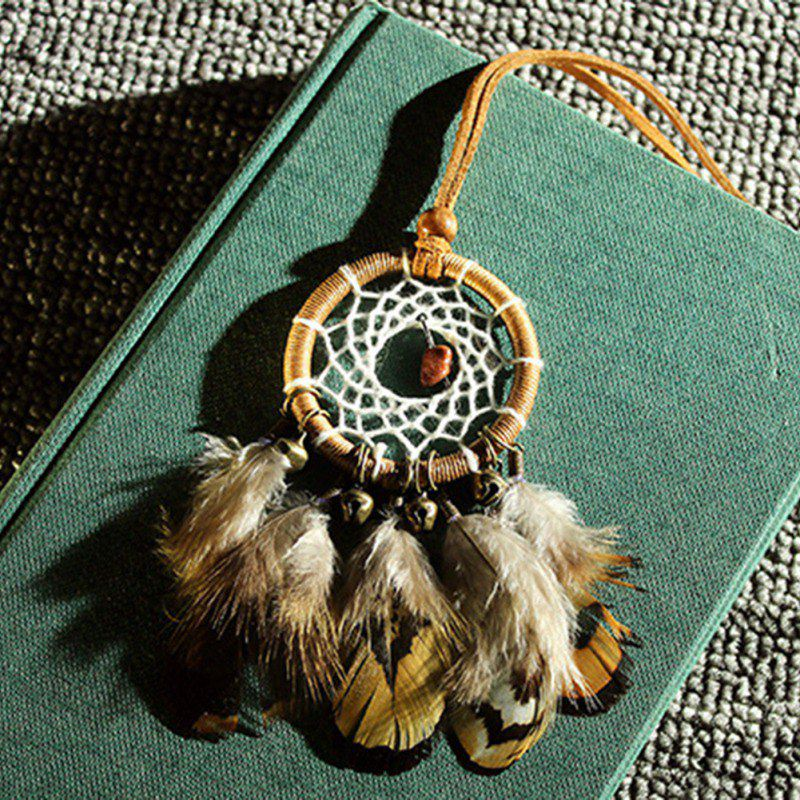 Vintage Small Bells Dreamcatcher Wind Chimes Car Pendant Home Decor Wall Hanging Dream Catcher