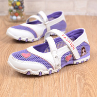 Breathable Anti Slippery Sandals Size 26 37 Fancy Cartoon Fashion Sneakers Casual Flats New Arrival Girls