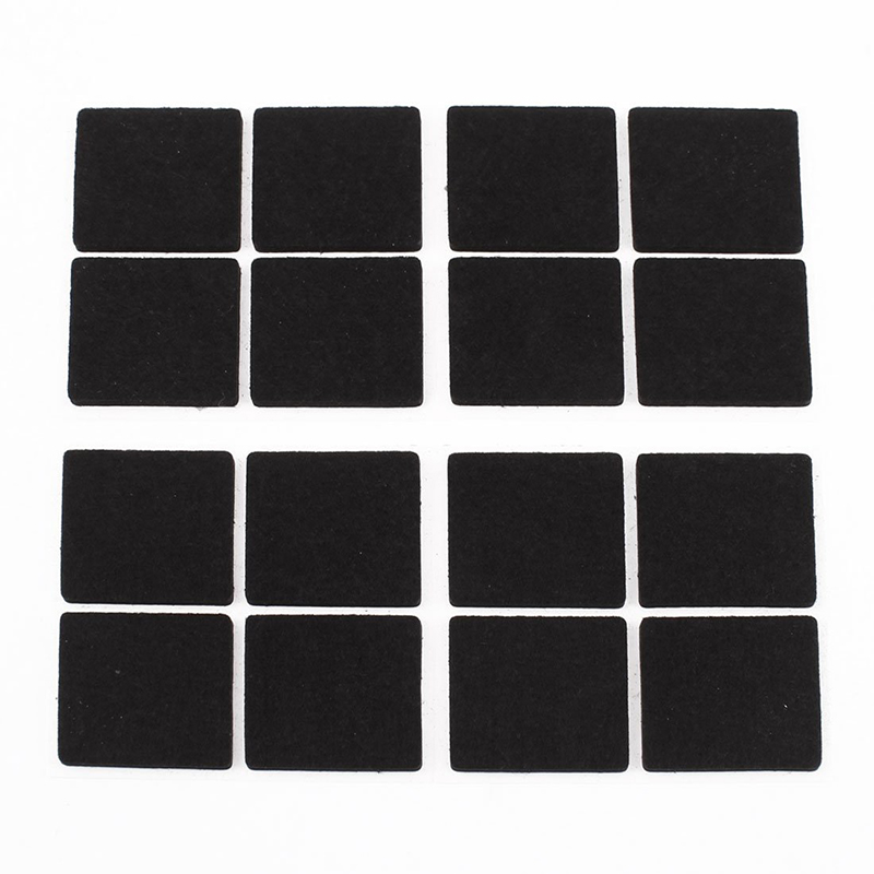 Hot Sale Furniture Feet Antiskid Protection Pads Felt Floor Protector 16 Pcs
