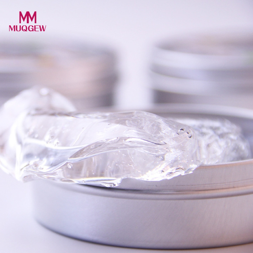 Transparent Plasticine Pure Clear Putty Handgum Rubber Mud Slime Scented Tub Stress Relief No Borax Clay Toy Novelty Kids Gifts