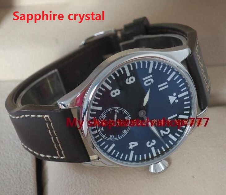 Sapphire Crystal PARNIS classic ST3621/6498 Mechanical Hand Wind movement mechanical watches  High quality  menswatchSapphire Crystal PARNIS classic ST3621/6498 Mechanical Hand Wind movement mechanical watches  High quality  menswatch