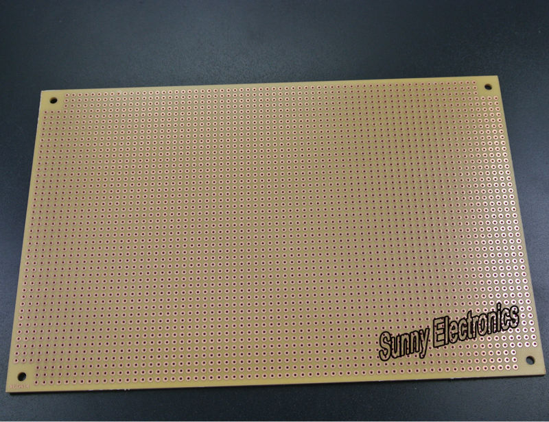 High Quality PROTOTYPE 12X18cm  Universal PCB Board 3184 Pt Single Side