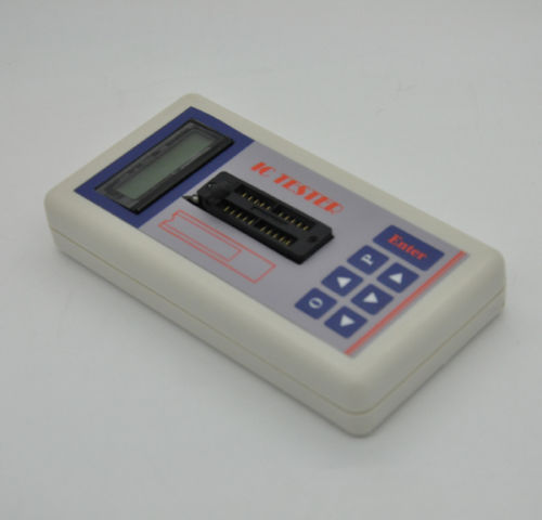 Transistor Tester Detect IC Meter Maintenance Digital led Tester MOS PNP NPN цены