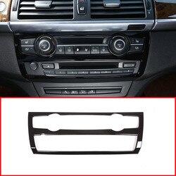 ABS Plastic Auto Middenconsole Volume Control Panel Cover Trim Voor BMW X5 E70 2008-2013 Auto Accessoires