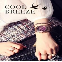 Guou new Clock Luxury Women Watches Ladies Dress Clock Fashion hour Rose Gold Steel Calendar Watches Female Quartz Wrist watches