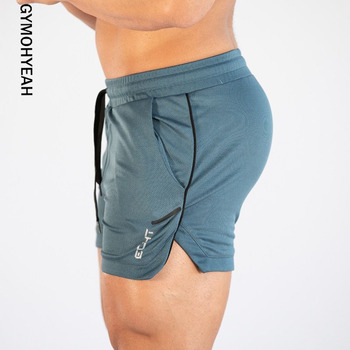 db12a013a32f 2019 pantalones cortos deportivos para hombre, para verano, para  entrenamiento, para hombre, de malla transpirable, de secado rápido, para  correr, ...