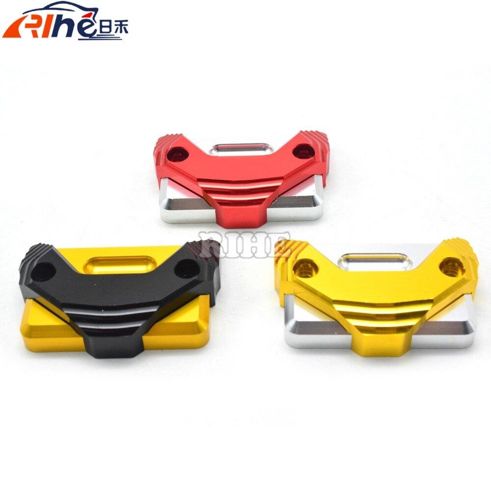 Accesorios de la motocicleta cnc cilindro de la motocicleta tapa del depósito pa