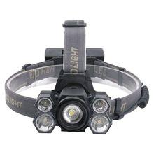7-светодиодный задний фонарь Головной фонарь повышенной яркости открытый фонарь с увеличением Водонепроницаемый Головной фонарь
