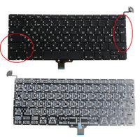 New A1278 Russian Keyboard Brand NEW 13 3 RU For Macbook Pro A1278 MC700 MB990 MC374