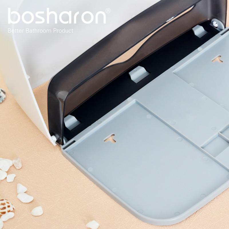 Banyo Kithen Kağıt Havlu Dispenseri Duvara Montaj YENI ABS Kalın - Evdeki Organizasyon ve Depolama - Fotoğraf 4