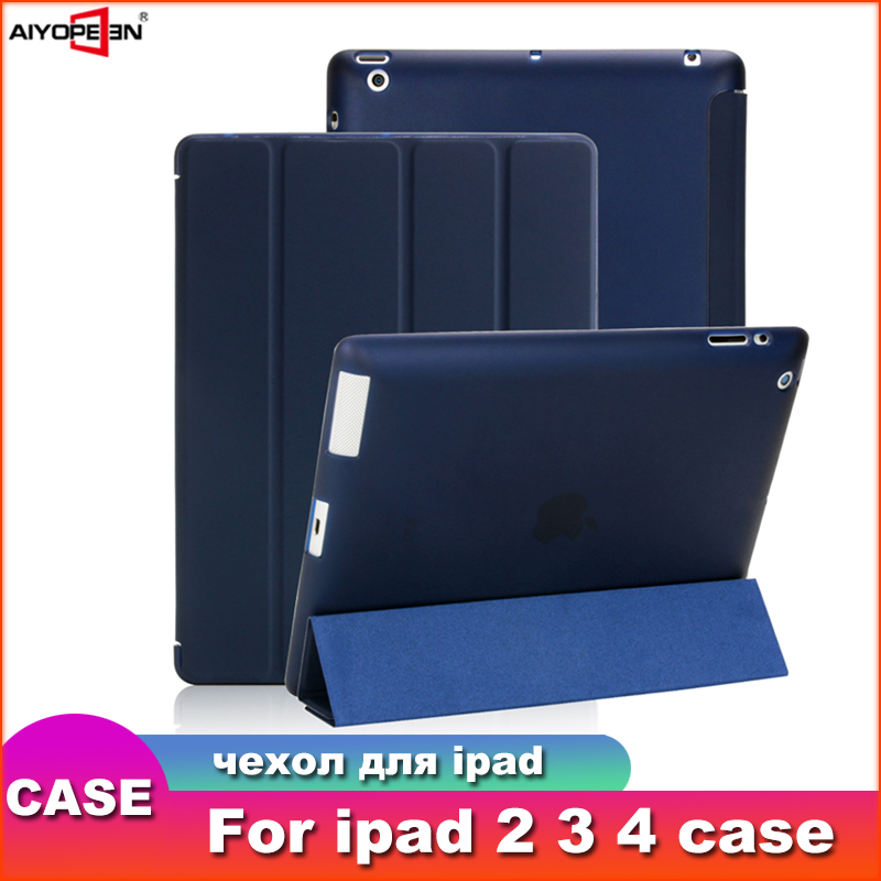 Case For Ipad 2 three 4, Aiyopeen Extremely Slim Pu Leather-based Flip Cowl Delicate Tpu Again Magentic Sensible Case For Ipad 2 three Four A1430 A1460