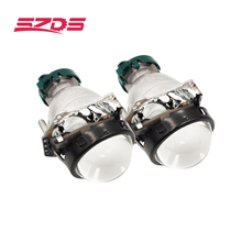 SZDS Auto Car Headlight 3.0 inch HID Bi xenon For Hella 3R G5 5 Projector Lens Replace Headlamp Retrofit DIY D1S D2S D3S D4S