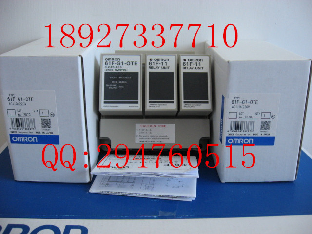 [ZOB] Supply of new original omron Omron level switch 61F-G1-OTE AC220V [zob] new original omron omron beam photoelectric switch e3jk tr12 c 2m 2pcs lot
