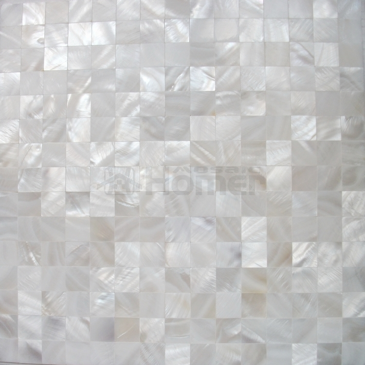 free shipping for all the goods pure white shell mosaic tiles backsplash mosaic tiles - Mosaic Tiles
