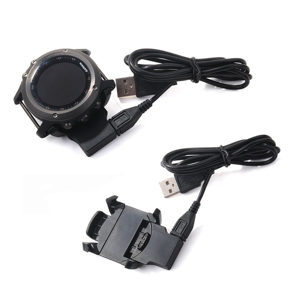 Charging Dock Desktop USB Charging Clip Data Sync Cradle Charger For Garmin Fenix3 HR Multisport GPS Smart Watch Charger Adapter data sync charging cradle docking charger for suunto ambit 3 2 1