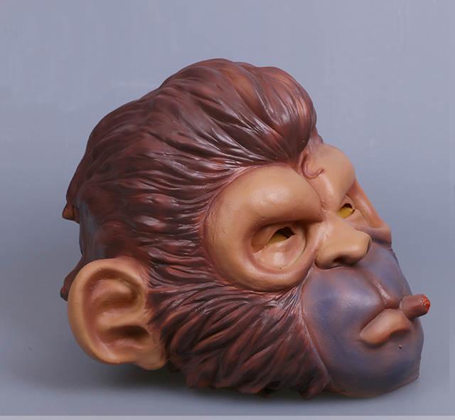 US $19 99 |Game Grand Theft Auto 5 GTA5 Smoking Orangutan Cosplay Masks  Animal Full Head Latex Funny Props Party Halloween Fancy Dress Ball-in Boys