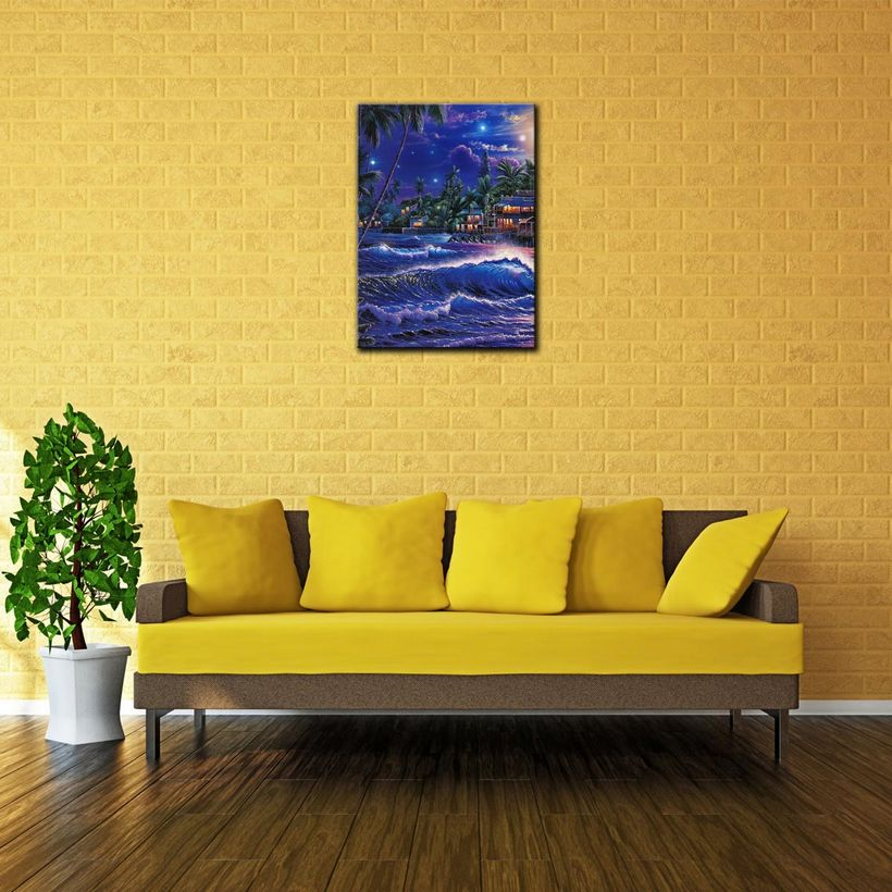 Best Canvas Prints Watercolor Oil Painting Art Wall Decorations for ...