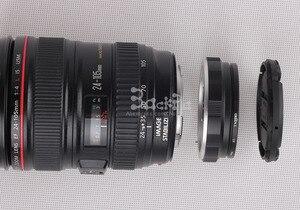 Image 4 - Kamera lensi ters koruma adaptörü halka Canon 80D 800D 77D 5DIII 5D4 6D EF EF S süngü Lens Reinstallation 58mm filtre