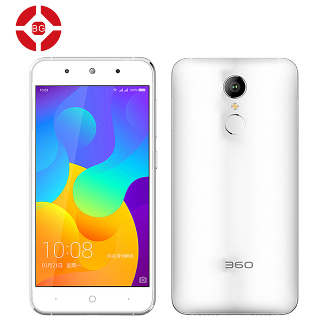 "BG Original 360 F4 Mobile Phone MTK6753 Octa Core 5.0"" IPS 1280X720 2GB RAM 16GB ROM 13.0MP Fingerprint Dual Sim Smartphone"