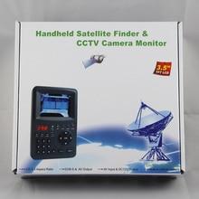 цена на Sat Finder 3.5inch Kpt-968g Handheld Digital Tv Test Tool For Decodeur satellite Top Quality