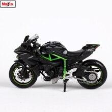 Maisto 1:18 Kawasaki H2R original authorized simulation alloy motorcycle model toy car