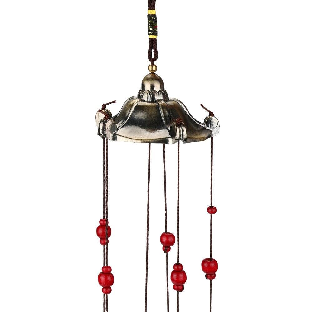 Metal Oriental Tube Bell Owl Decor Wind Chime Garden Yard Ornement