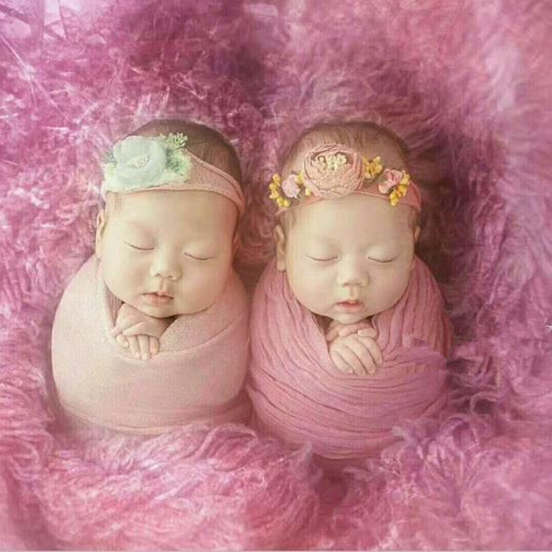 Newborn photography props headband  handmade newborn baby photography props hair headwear