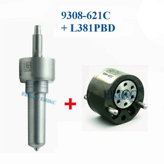 ERIKC EJBR05102D (28232251) kits de pièces de rechange pour injecteur diesel L381PBD + 9308z621c kits de réparation de buse 7135-646 pour Euro4 Delphi